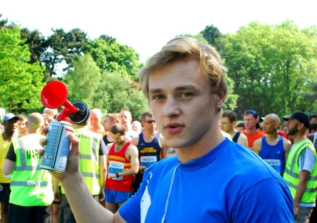 In 2014 actor Ben Hardy joined Team Shed Angels to raise funds for Haringey Shed