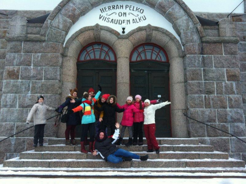 Haringey Shed Goes To Finland