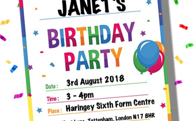 Janet's Party – Children Summer Theatre 2018